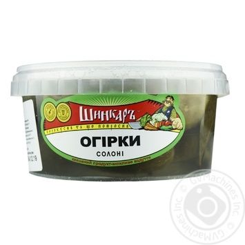 Shynkar Salted Cornichon Cucumbers 500g - buy, prices for Novus - image 2