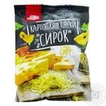 Снеки картофельные Мак-Дак с ароматом сыра 20г