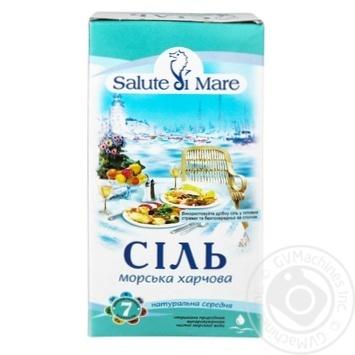 Соль Salute di Mare морская пищевая средняя 750г - купить, цены на Novus - фото 3