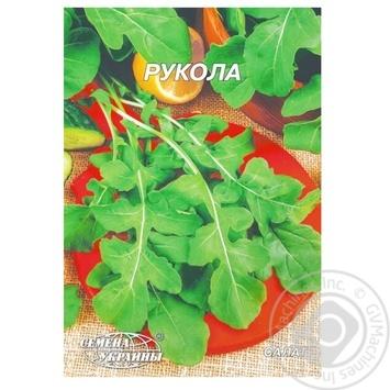 Насіння Гігант Рукола Семена Украины 10г - купити, ціни на Novus - фото 1