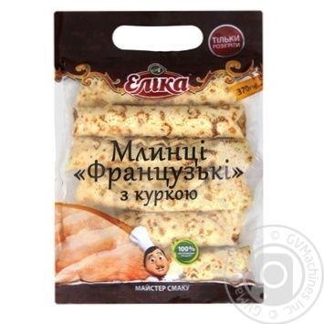 Elika Frozen With Chicken Pancakes 370g - buy, prices for MegaMarket - image 1