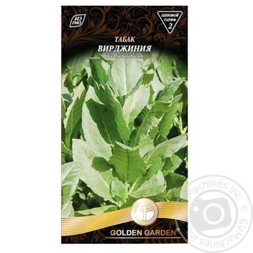Насіння Golden Garden Тютюн Вірджинія 0,1г - купить, цены на Novus - фото 1