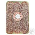 Ковбаса Organic Meat Органічна Салямі Міланська сиров'ялена вищий гатунок 80г