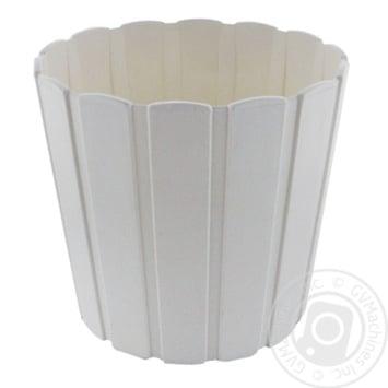 Pot white for garden 2200ml