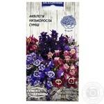 Семена Семена Украины Аквилегия Низкорослая смесь 0,1г
