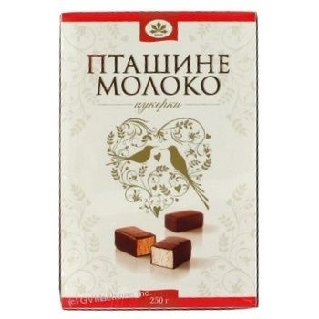 Конфета Конти Птичье молоко 250г коробка Украина