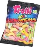 Candy Trolli Sour glowworms 125g flow-pack Germany