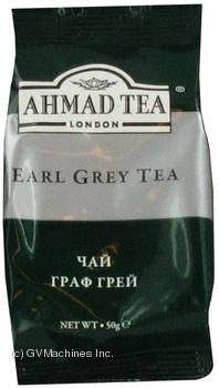 Чай чорний листовий Ahmad Граф Грей 50г