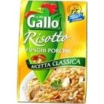 Крупа рис Галло грибы 175г Италия