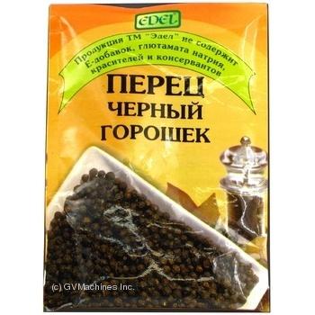 Скидка на Перец Edel черный горошек 25г