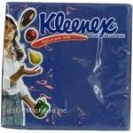 Серветка Клінекс темно-сині 20шт 110г