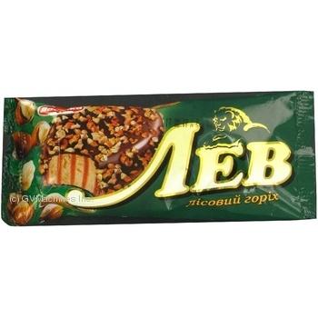 Мороженое Лакомка Лев лесной орех 85г
