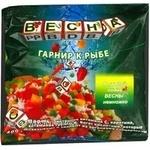 Овочі Весна овочі заморожена для риб 400г Україна