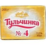 Масло Тульчинка 72.5% 200г Украина