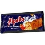Roll Alpella strawberries with cream 175g Ukraine