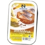 Fish herring Norven pickled 300g Ukraine