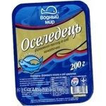 Fish herring Vodnyi mir preserves 200g vacuum packing Ukraine