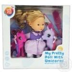 Набор One two fun Моя красивая кукла с единорогами 29 элементов