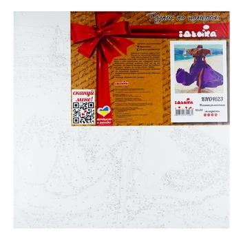 Розпис по номерах Ідейка Пляжна Романтика 40*40см - купити, ціни на Ашан - фото 1
