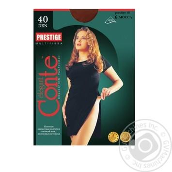 Колготи жiночi.Conte Prestige 40 розмiр.6 mocca