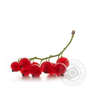 ягода красная смородина красное свежая