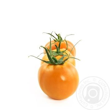 Овощи помидор оранжевый свежая