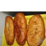 Пирожок с горохом жареная 75г Украина