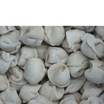 Meat dumplings Lubimuy product Homemade style frozen Ukraine