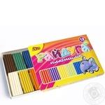 Пластилін Райдуга 12 кольорів Olli 300 г