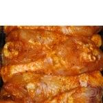 Chilled broiler chicken shin in marinade Amstor