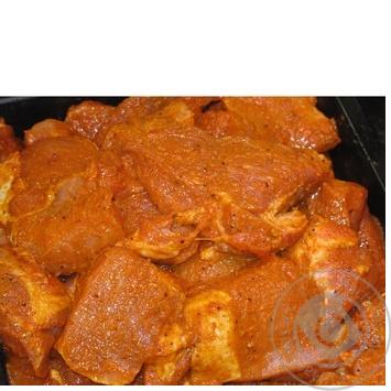 Шашлык из свинины Амстор охлажденный в маринаде