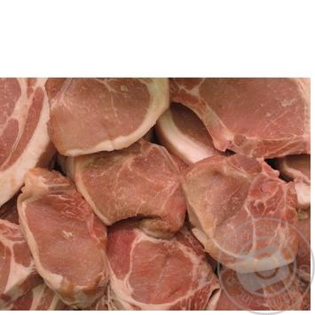 Котлета свиная охлажденная с костью