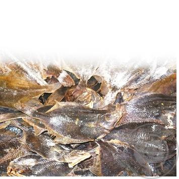 Рыба камбала потрошеная