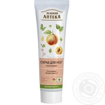 Scrub Zelenaya apteka for feet 100ml - buy, prices for Auchan - image 1