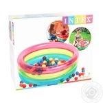 Intex Inflatable Pool with Balls 86x25cm