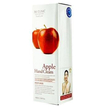 Крем для рук 3W Clinic з екстрактом яблука 100мл - купити, ціни на Ашан - фото 1