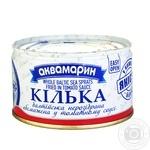 Килька Аквамарин Балтийская в томатном соусе 230г