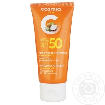 Спрей Cosmia солнцезащитный spf50 100мл