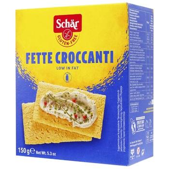 Хлібці Schar Fette Croccanti 150г