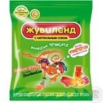 Candy Zhuvilend Veseli tryukachi 40g packaged Ukraine