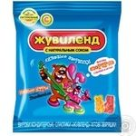 Candy Zhuvilend Khitovi zviryashky jelly 40g packaged Ukraine
