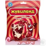 Candy Zhuvilend Kucheryava kola jelly 40g packaged Ukraine