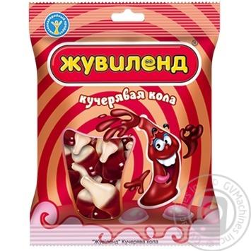 Конфета Жувилэнд Кучерявая кола желейные 40г в упаковке Украина