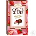 Цукерка Авк Райські фрукти полуниця з начинкою 205г в упаковці Україна
