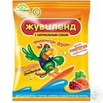 Candy Zhuvilend Tropical fruits tropical fruit 85g packaged Ukraine