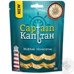 Желтый полосатик Капитан соленый сушеный 30г