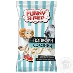 Funny Sheep Corn for cooking  Salted Popcorn in the microwave 90g
