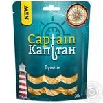 Тунец Капитан соленый сушеный 30г