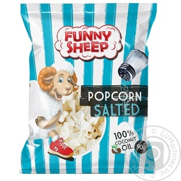 Funny Sheep Cheese Flavored Salted Popcorn  90g - buy, prices for CityMarket - photo 1