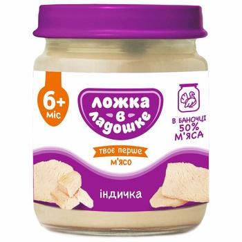 Lozhka v Ladoshke Turkey Meat Puree 100g - buy, prices for EKO Market - photo 1